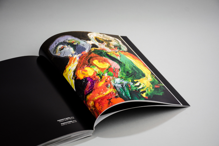 L'expressionnisme contemporain art book printed by KOPA printing